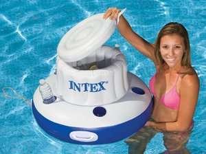 INTEX Mega Chill Inflatable Floating Beverage Cooler 078257588206