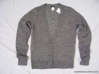 New J. Crew Alpaca & Merino wool Cardigan Sweater NWT