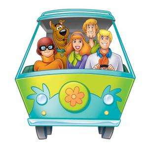 RoomMates Scooby Doo Mystery Machine Peel and Stick Giant Wall Decal