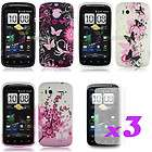 GEL SILICONE CASE COVER+SCREEN PROTECTOR FOR HTC Sensation 4G XE