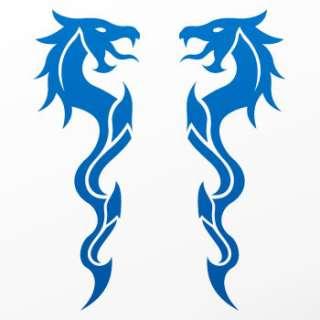 Tribal tattoo design Decal Sticker Dragon Art WRSZE
