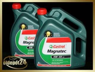 Castrol Magnatec 5W 40 C3 2x5 Liter Motoröl 5W40