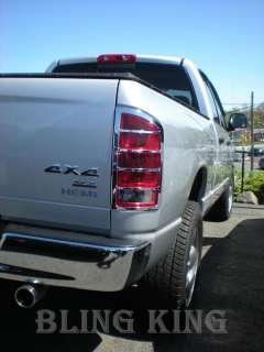 02 06 Dodge Ram Truck chrome MIRROR/HANDLE/TAILIGHTS
