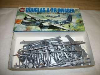 Douglas A 26 Invader Model Airplane Kit   Airfix 1/72