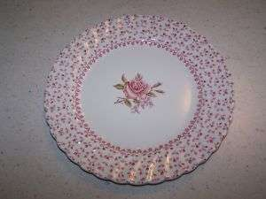 JOHNSON BROTHERS BROS PINK ROSE BOUQUET 8 SALAD PLATE
