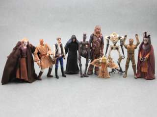 FREE SHIP LOT 20 Pcs Star Wars Chewbacca IG 86 Droid Yoda Jedi Figures