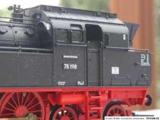 4076 Fleischmann Dampflok BR 78 198 der DR HO 187