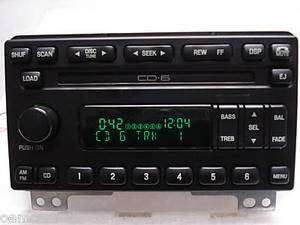 04 05 06 Ford Expedition Radio 6 Disc Changer CD Player Stereo OEM