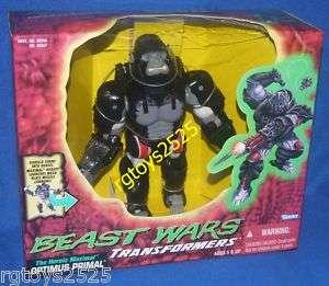 Transformers Beast Wars Optimus Primal New RARE