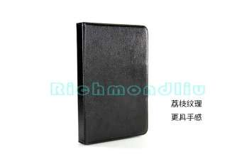 Black Bluetooth Keyboard Leather Case for Samsung Galaxy Tab P7300 8.9