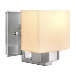 Bay 1 Light Brushed Nickel Wall Sconce 25088