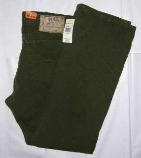 POLO RALPH LAUREN Corduroy Jeans Mens 35X30 38X32 NWT