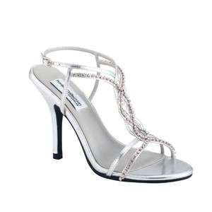 STRIKING iN Silver by Dyeables Bridal Bridesmaid Prom Shoes