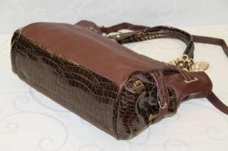 Kathy Van Zeeland Tote Handbag Dark Brown # KA 817