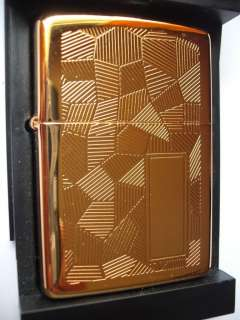 SHIMMER GOLD PLATED NIAGARA FALLS ZIPPO DOUBLE SIDED 95