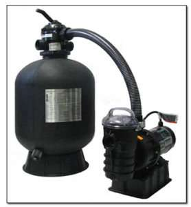 STA RITE SWIMMING POOL FILTER ABOVE GROUND SAND 19 1HP