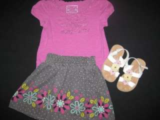 BABY TODDLER GIRL 4T SPRING SUMMER CLOTHES LOT DRESSES OUTFITS