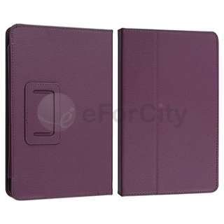 For Kindle Fire Premium Flip Stand Folio Leather Case Cover Pouch US
