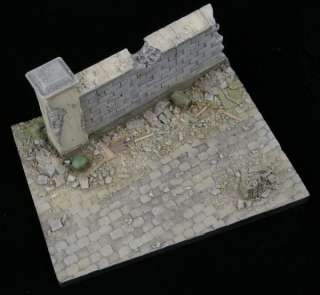 Alliance Model Works 1:35 Small Resin Diorama Base Some Cover