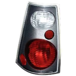 Anzo USA 211086 Ford Explorer Sport Trac Carbon Tail Light Assembly