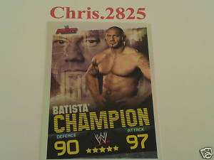 slam attax evolution batista champion card FREE PP