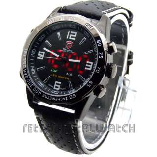 Bull SHARK LED Watch Military Steel Limited Edition Racing Strap Model