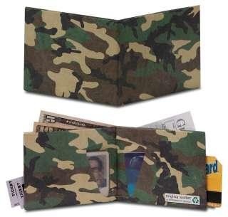 MIGHTY WALLET Portafoglio Tyvek Camo Mimetico Militare