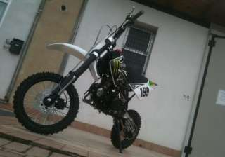 PIT BIKE BSE CROSS 4 TEMPI 125CC MONSTER RACING NERO