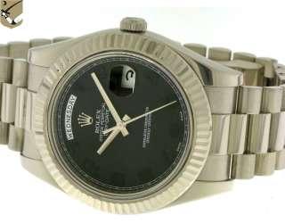 Rolex Day Date II 218239 Oro Bianco Automatico Con Scatola e Garanzia