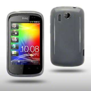 TPU GEL CASE / BACK COVER FOR HTC EXPLORER   CLEAR