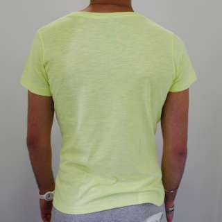shirt HAPPINESS FLUO Tg. S LOVERS GIALLO