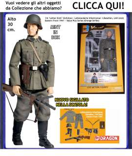Dragon WWII Action Figure German Schutze Lothar Kroh