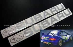 Subaru Decal Sticker Impreza WRX STi Legacy Forester
