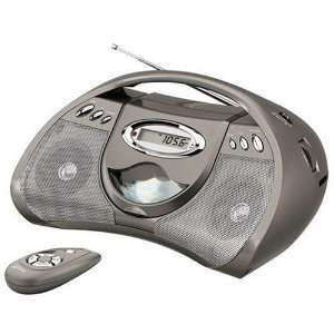 GPX Portable CD Player with AM FM Radio Line in for