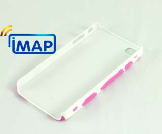 For iPhone 4 4G , 1 X Cow Spots Snap On Hard Back Case Cover Shell