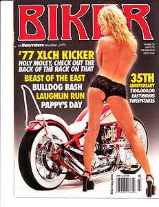 BIKER Easyriders magazine March 06 #235 77 XLCH Kicker