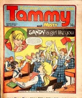 TAMMY Girls Comic 18 JULY 1981   great 31st BIRTHDAY PRESENT / GIFT