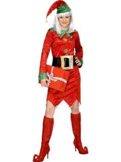 Fancy Dress Santas Little Helper Grotto Elf Costume L