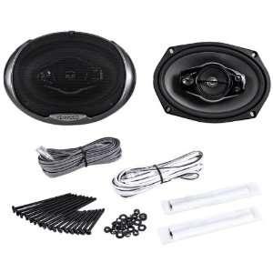 Kenwood KFC 6994PS 6x9 1000 Watt 5 Way Car Audio Coaxial