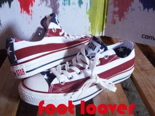 Scarpe Converse All Star CT TG 46 M3494 uomo Stars & Bars bandiera