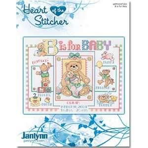 JANLYNN B is for Baby Cross Stitch Chart: Arts, Crafts