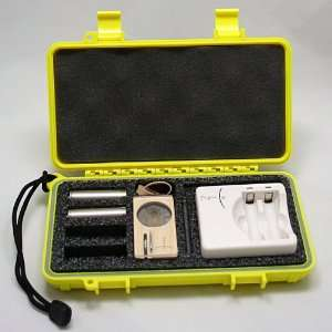 Custom Hard Case fits the Magic Flight Launch Box Vaporizer   YELLOW