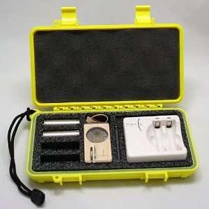 Custom Hard Case fits the Magic Flight Launch Box Vaporizer   YELLOW
