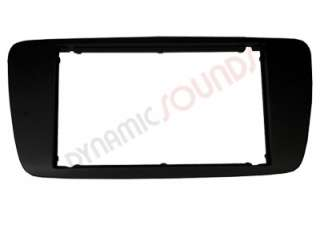 Seat Ibiza Double Din Black Fascia Panel DFP 18 04