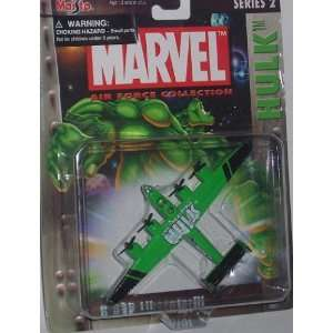 Maisto Ultimate Marvel Air Force Hulk B 24D Liberator Bomber Airplane