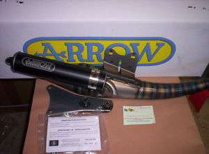 MARMITTA ARROW EXTREME DARK APRILIA RALLY SR WWW