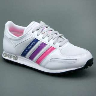 Adidas ADIDAS LA TRAINER W Tg 6,5 (ITA 40) Bianco/Rosa