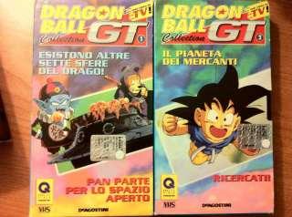Vhs dragonball gt da collezione a Torino    Annunci