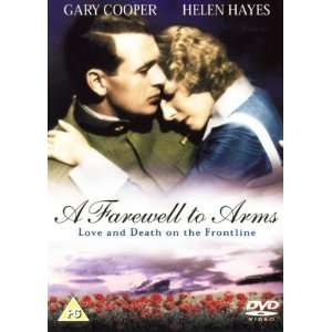 A Farewell to Arms Gary Cooper, Helen Hayes, Adolphe