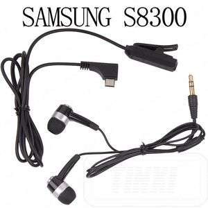 InEar Headphone Microphone Headset Samsung B7300 S5600V